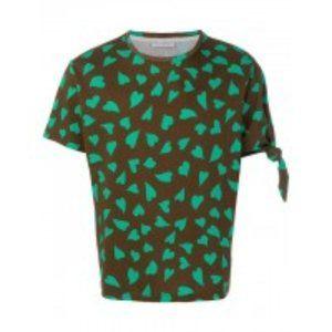 JW Anderson All Over Hearts Knot T Shirt